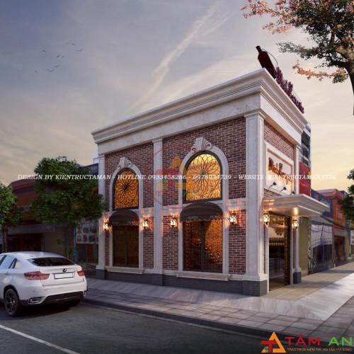 dịch vụ thi công xây dựng nhà hàng chuyên nghiệp