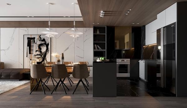mẫu thiết kế phòng khách đẹp ở Vũng Tàu
