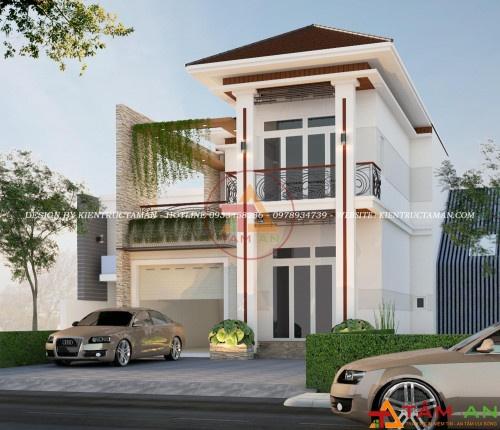 thiết kế xây dựng nhà biệt thự ở Phú Mỹ
