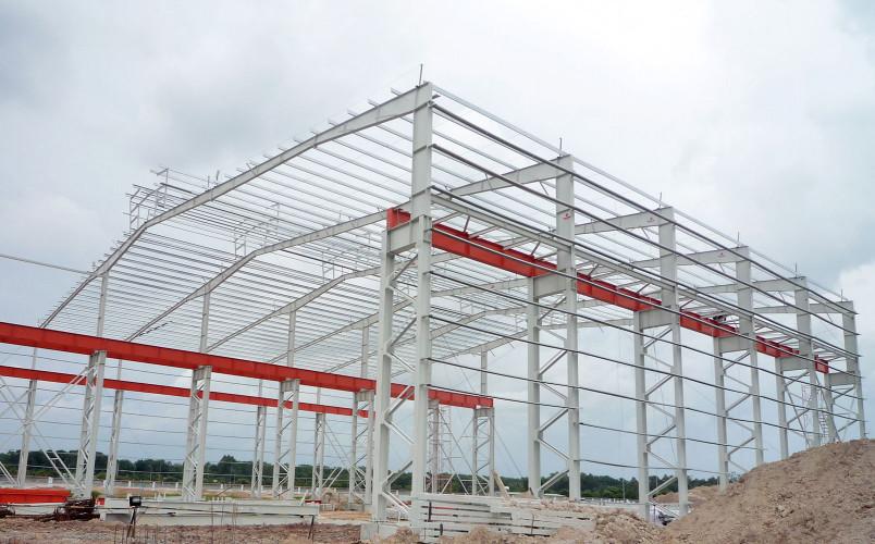 thiết kế xây dựng nhà xưởng ở Phú Mỹ