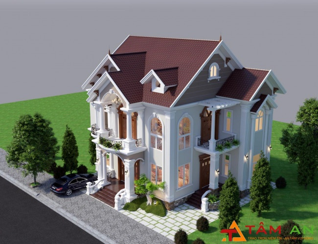 xây dựng nhà phố trọn gói giá rẻ tại Long Thành